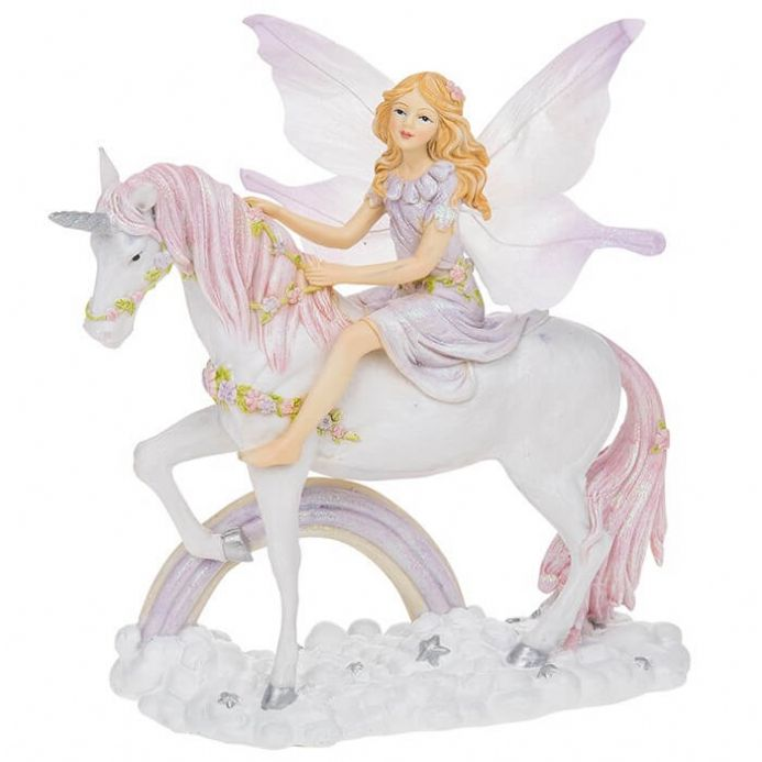 Large Fairyland Unicorn and Fairy